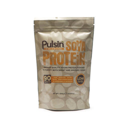 Pulsin Soya Protein Isolate 250g / Unflavoured Natural & Organic  www.nutri4u.co.uk