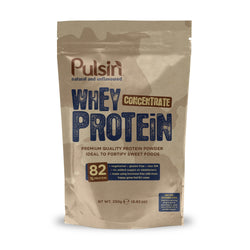 Pulsin Whey Concentrate Protein Powder 250g / Unflavoured Natural & Organic  www.nutri4u.co.uk