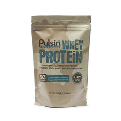 Pulsin Whey Protein Isolate 250g / Unflavoured Natural & Organic  www.nutri4u.co.uk