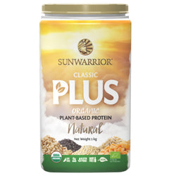 Sunwarrior Classic Plus 1kg / Chocolate Natural & Organic  www.nutri4u.co.uk - 1