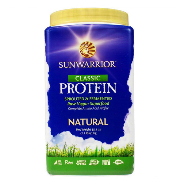 Sunwarrior Classic Raw Protein 1kg / Chocolate Natural & Organic  www.nutri4u.co.uk - 1