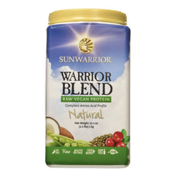 Sunwarrior Warrior Blend 1kg / Chocolate Natural & Organic  www.nutri4u.co.uk - 1