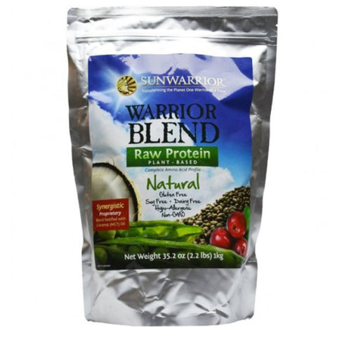 Sunwarrior Warrior Blend 500g / Chocolate Natural & Organic  www.nutri4u.co.uk - 2