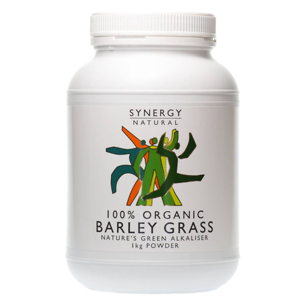 Synergy Natural Organic Barley Grass Powder 1kg Natural & Organic  www.nutri4u.co.uk - 1