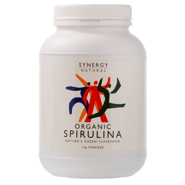 Synergy Natural Organic Spirulina Powder 1kg Natural & Organic  www.nutri4u.co.uk - 1