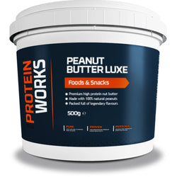 The Protein Works Peanut Butter Luxe 500g / Choc Bourbon Biscuit Natural & Organic  www.nutri4u.co.uk