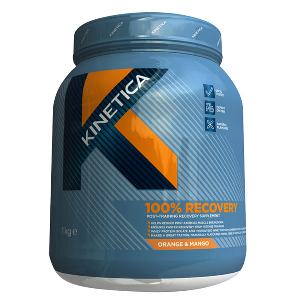 Kinetica 100% Recovery 1kg (14 Servings) / Blackcurrant Carbohydrate  www.nutri4u.co.uk - 1