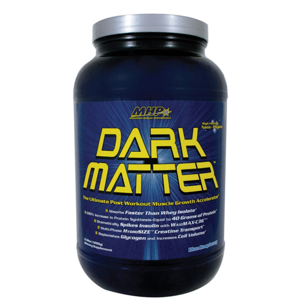 MHP Dark Matter 1.2kg (40 Servings) / Fruit Punch Post Workout  www.nutri4u.co.uk