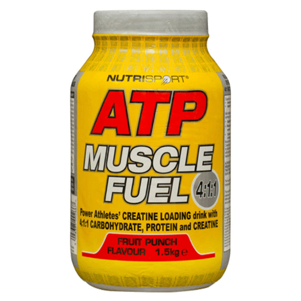 Nutrisport ATP Muscle Fuel 4:1:1 1.5kg (37 Servings) / Fruit Punch Post Workout  www.nutri4u.co.uk - 1
