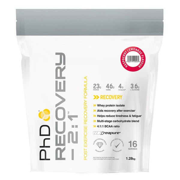 PhD Nutrition Recovery 2:1  Post Workout  www.nutri4u.co.uk
