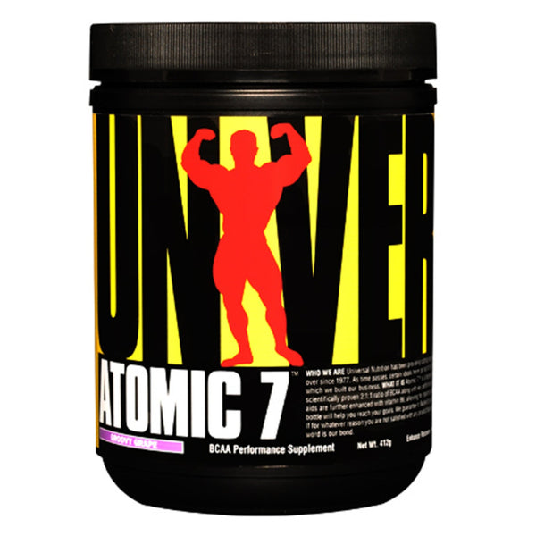 Universal Nutrition Atomic 7 384g / Black Cherry Bomb Amino Acids/BCAAs  www.nutri4u.co.uk