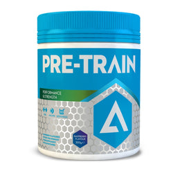 Adapt Nutrition Pre-Train 300g (30 Servings) / Blue Raspberry Pre-Workout  www.nutri4u.co.uk