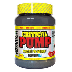 Applied Nutrition Critical Pump (600g) 600g (40 Servings) / Blue Raspberry Pre-Workout  www.nutri4u.co.uk