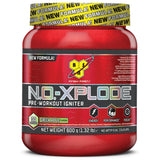 BSN N.O-Xplode 3.0 600g (30 Servings) / Green Apple Pre-Workout  www.nutri4u.co.uk - 11