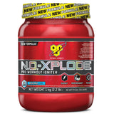 BSN N.O-Xplode 3.0 1kg (50 Servings) +  Free Lifting Strap & SmartShaker / Blue Raz Pre-Workout  www.nutri4u.co.uk - 1