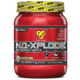 BSN N.O-Xplode 3.0 1kg (50 Servings) +  Free Lifting Strap & SmartShaker / Green Apple Pre-Workout  www.nutri4u.co.uk - 3