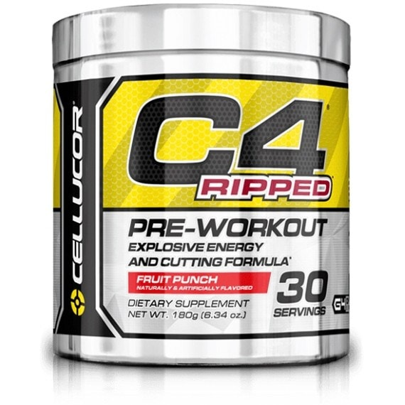 Cellucor C4 Ripped 30 Servings / Cherry Limeade Pre-Workout  www.nutri4u.co.uk
