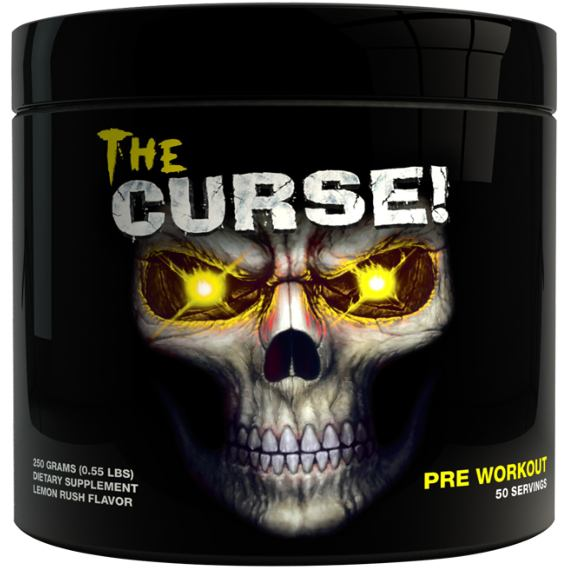 Cobra Labs The Curse 250g (50 Servings) / Blue Raspberry Ice Pre-Workout  www.nutri4u.co.uk