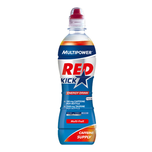 MultiPower Red Kick (Still) 12 x 500ml / Multifruit Pre-Workout  www.nutri4u.co.uk