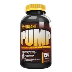 Mutant Pump 154 Caps (22 Servings) Pre-Workout  www.nutri4u.co.uk