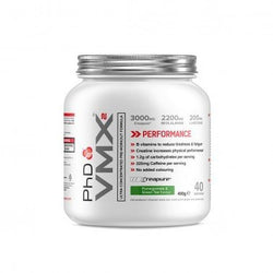 PhD Nutrition VMX2 400g (40 Servings) / Green tea & Pomegranate Pre-Workout  www.nutri4u.co.uk - 1