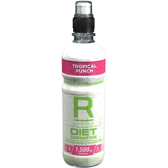 Reflex Nutrition Diet Carnitine RTD 1 x 500ml / Lemon Amino Acids/BCAAs  www.nutri4u.co.uk