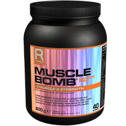 Reflex Nutrition Muscle Bomb Non Caffeine 600g / Black Cherry Pre-Workout  www.nutri4u.co.uk