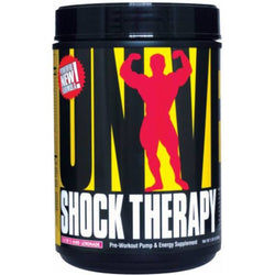 Universal Nutrition Shock Therapy 840g (42 Servings) / Clyde's Lemonade Pre-Workout  www.nutri4u.co.uk - 1