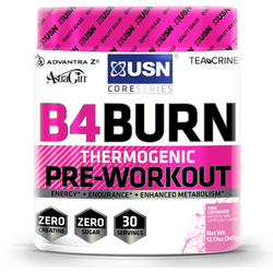 USN B4 Burn 345g / Pineapple Mango Pre-Workout  www.nutri4u.co.uk