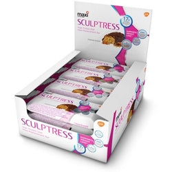 Sculptress Diet Bar 12 x 60g Bars / Caramel Crunch Protein  www.nutri4u.co.uk - 1