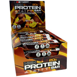 Vyomax Nutrition Protein Bars 24 x 55g Bars / Banana Toffee Protein  www.nutri4u.co.uk - 1