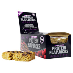 Vyomax Nutrition Protein Flapjacks 12 x 115g Flapjacks / Cherry Almond Protein  www.nutri4u.co.uk - 1