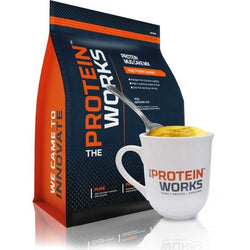 The Protein Works Protein Mug Cake Mix 500g / Lemon Drizzle Protein Dessert  www.nutri4u.co.uk