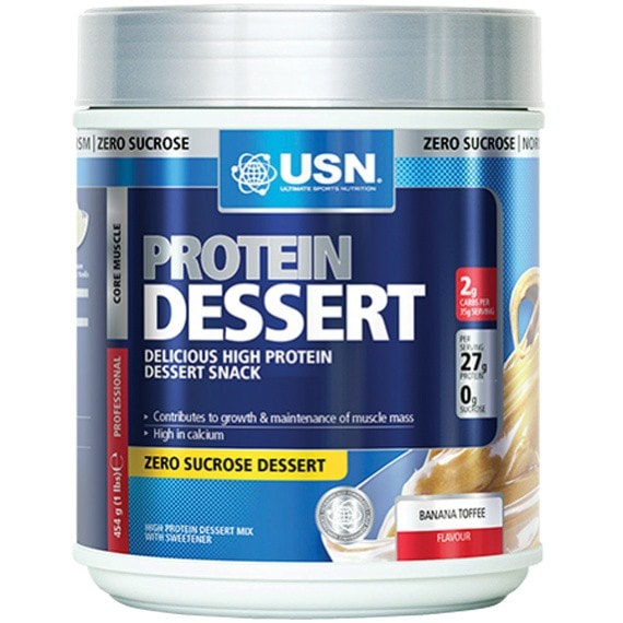 USN Protein Dessert 454g / Chocolate Brownie Protein Dessert  www.nutri4u.co.uk