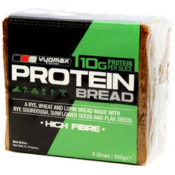 Vyomax Nutrition Protein Bread 500g / Wholemeal Bread With Rye Sourdough Protein Meals  www.nutri4u.co.uk
