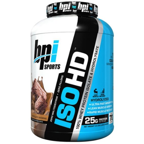 BPI Sports ISO-HD 2.27kg (67 Servings) / Banana Protein  www.nutri4u.co.uk - 1