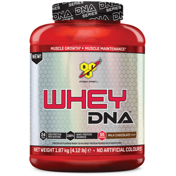 BSN Whey DNA 1.87kg / Chocolate Protein  www.nutri4u.co.uk - 1