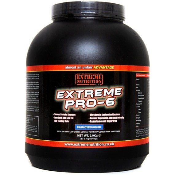 Extreme Nutrition Extreme Pro-6 2kg (57 Servings) / Banana Protein  www.nutri4u.co.uk - 1