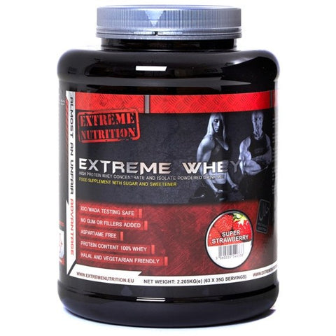 Extreme Nutrition Extreme Whey 2.25kg (63 Servings) / Banana Protein  www.nutri4u.co.uk - 1