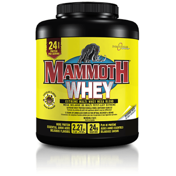 Interactive Nutrition Mammoth Whey 2.2kg (61 Servings) / Banana Protein  www.nutri4u.co.uk - 1
