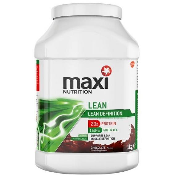 MaxiNutrition Lean 1kg (25 Servings) / Chocolate Protein  www.nutri4u.co.uk