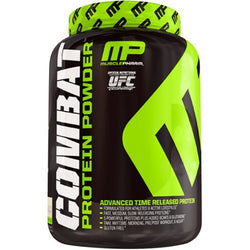 MusclePharm Combat Protein Powder 1.8kg (52 Servings) / Banana Cream Protein  www.nutri4u.co.uk - 1