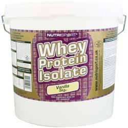 Nutrisport Whey Protein Isolate 5kg (125 Servings) / Banana Protein  www.nutri4u.co.uk - 1