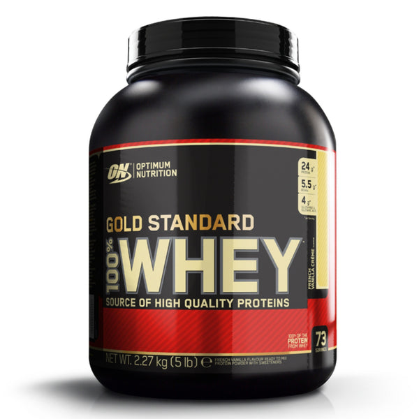 Optimum Nutrition Gold Standard 100% Whey 2.27kg (75 Servings) / Banana Creme Protein  www.nutri4u.co.uk - 1