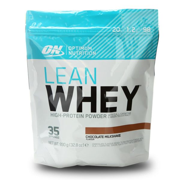 Optimum Nutrition Lean Whey 930g (35 Servings) / Chocolate Shake Protein  www.nutri4u.co.uk - 1