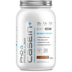 PhD Nutrition Micellar Casein+ 900g (30 Servings) / Chocolate Cookie Protein  www.nutri4u.co.uk - 1