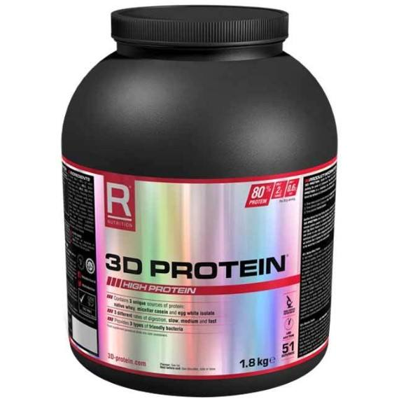 Reflex Nutrition 3D Protein 1.8kg / Chocolate Perfection Protein  www.nutri4u.co.uk