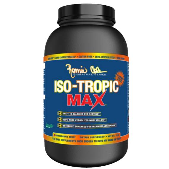 Ronnie Coleman ISO Tropic Max 908g / Blue Raspberry Protein  www.nutri4u.co.uk