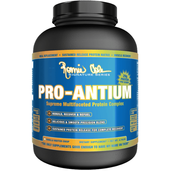 Ronnie Coleman Pro-Antium 2.2kg / Chocolate Cookie Protein  www.nutri4u.co.uk