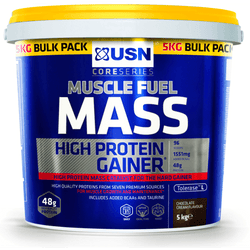 USN Muscle Fuel Mass 5kg / Chocolate Protein  www.nutri4u.co.uk - 1
